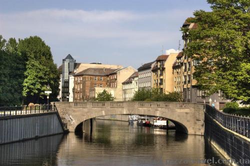 Мост на Зеленой улице (Gruenstrassenbruecke)
