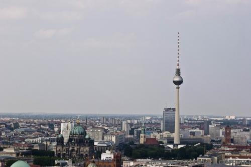 Downtown and TV tower