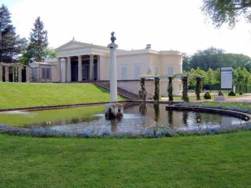 Charlottenhof Palace in Potsdam