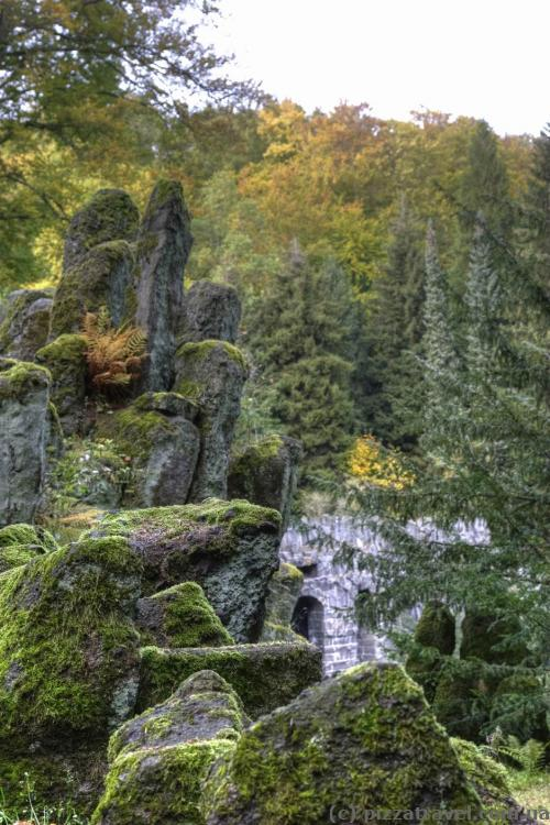 Rocks near the Devil's bridge