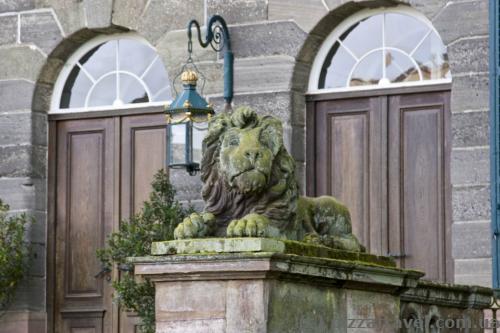 Lion near the Wilhelmshoehe Palace