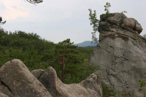 The Ved'ma (Witch) aka Golova Dovbusha (Dovbush's Head) rock