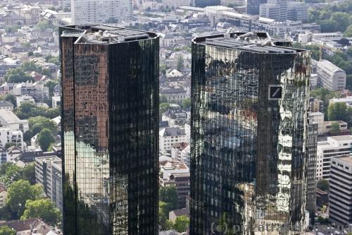 Дойче-банк во Франкфурте