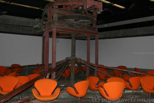 360-degree cinema in the Zollverein mine