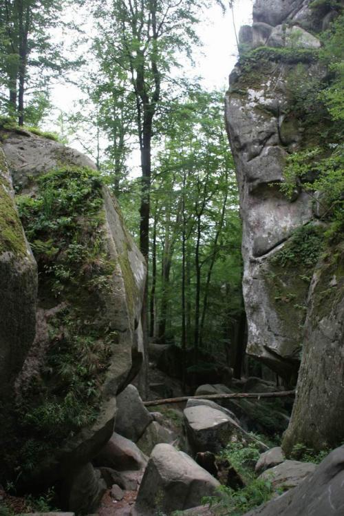 The Rocks of Dovbush