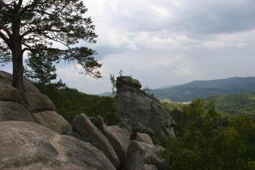The Ved'ma (Witch) aka Golova Dovbusha (Dovbush's Head) rock