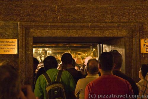 The lift will take you to the Kehlsteinhaus.