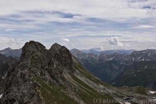Вид з гори Небельхорн