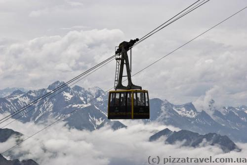 Cable car to Mount Nebelhorn