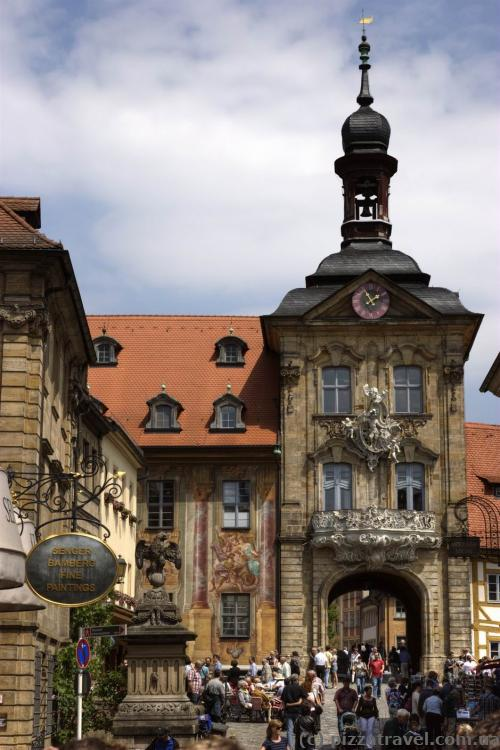Old Town Hall in Bamberg