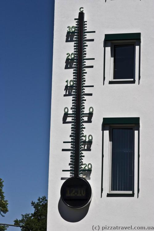 Thermometer in Bonn