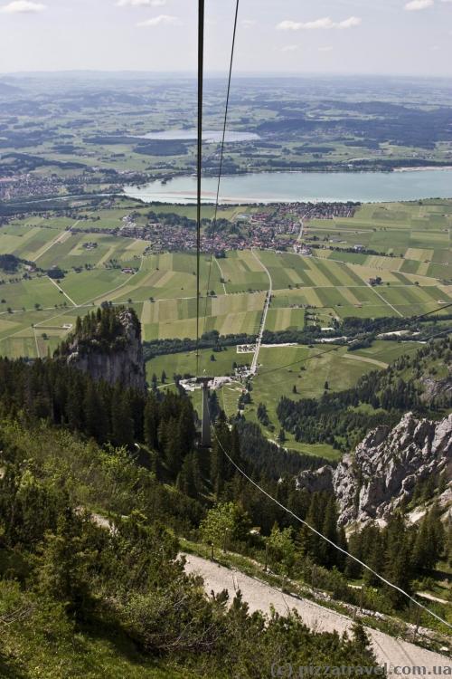 Канатная дорога на гору Тегельберг (Tegelbergbahn)