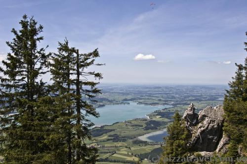 View from Mount Tegelberg