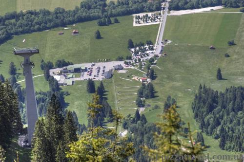 Вид с горы Тегельберг