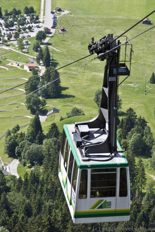 Cable car to Mount Tegelberg (Tegelbergbahn)