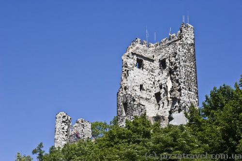 Ruins of the Drachenfels Castle