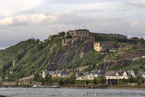 Фортеця Ehrenbreitstein
