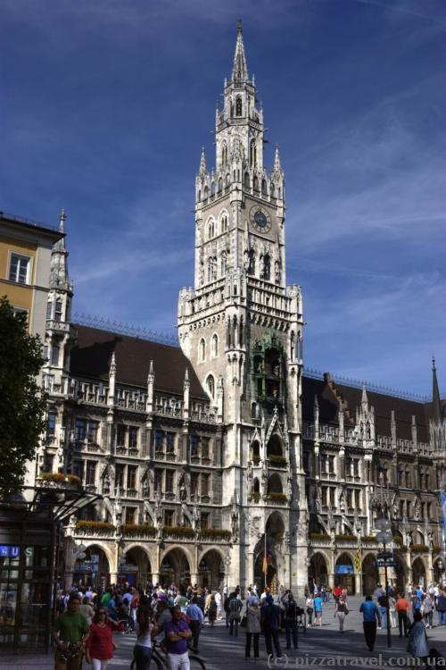 City Hall in Munich