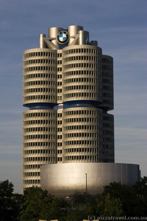 BMW plant in Munich