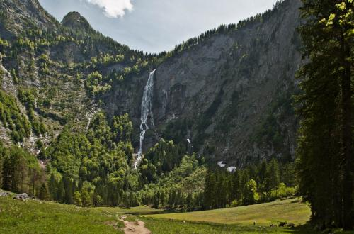 Roethbach waterfall