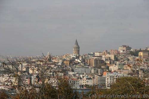 View of Galata Tower from the Topkapi Palace