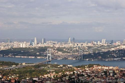 View of Istanbul from Buyuk Chamlydzha