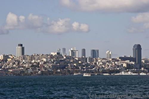 On the way to Princes' Islands - Asian part of Istanbul