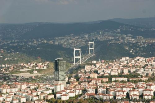 View of Istanbul from the Sapphire skyscraper