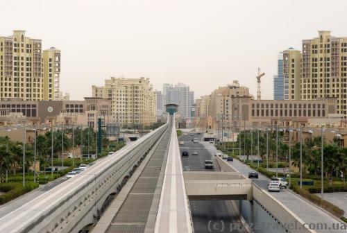 Monorail on Palm Jumeirah