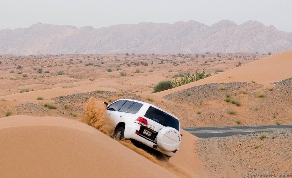 jeep safari uae blog about interesting places