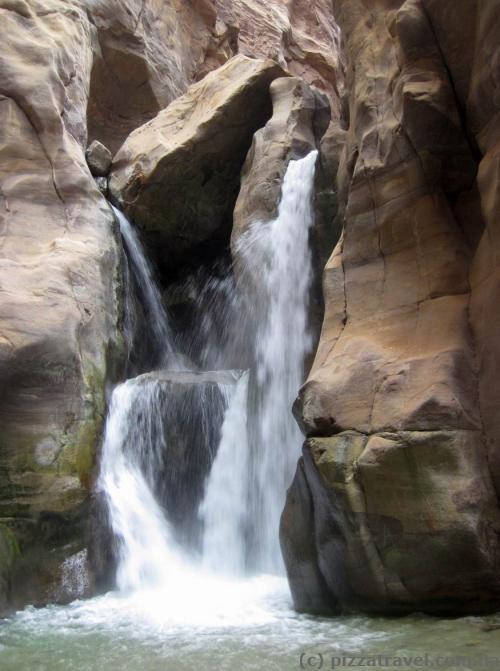 Водопад в каньоне Муджиб