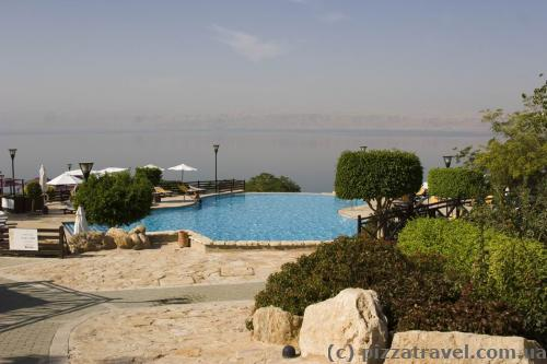 Mariott hotel at the Dead Sea