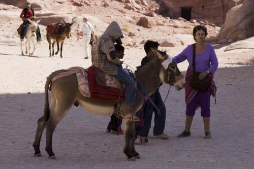 Donkey riders :)