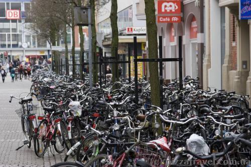 Мюнстер - город велосипедов, их здесь нереальное количество