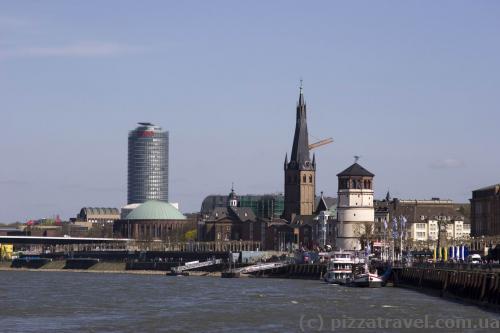 Центр города - Замковая площадь (Burgplatz)