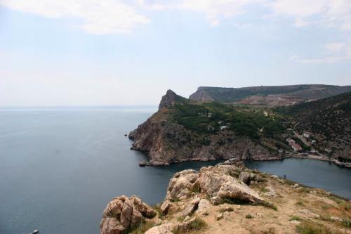 Вид с крепости Чембало