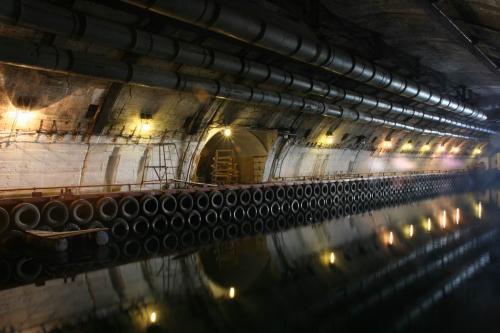 Секретный бункер для подводных лодок