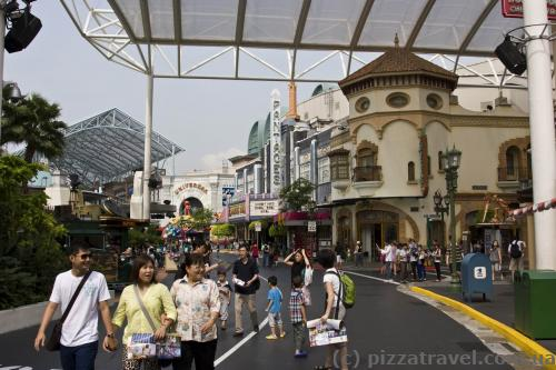 Hollywood area