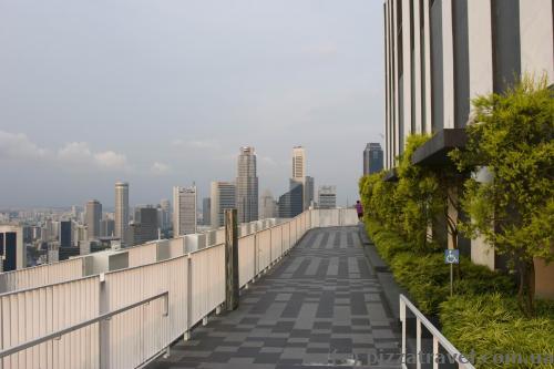 Террасы на 50-м этаже