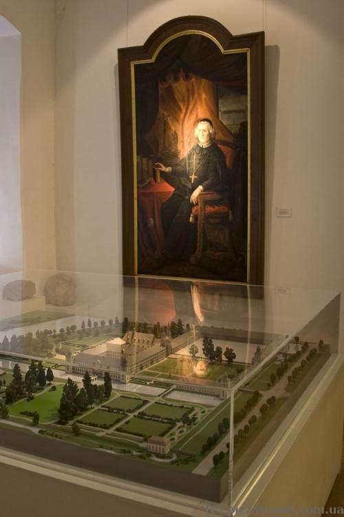 Музейные помещения внутри замка Корвей