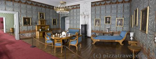 Blue room in the west wing