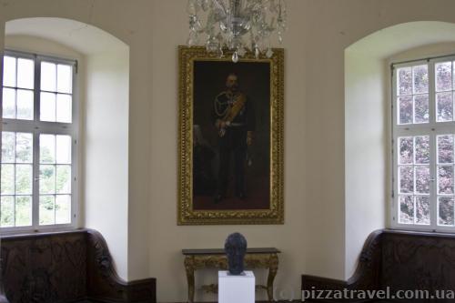 Внутренние помещения замка Корвей