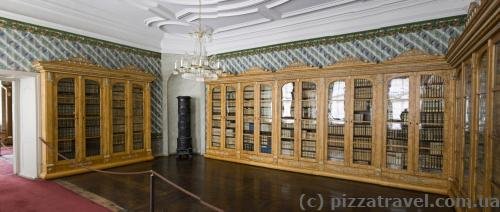 Princely library (currently are about 75 thousand volumes left)