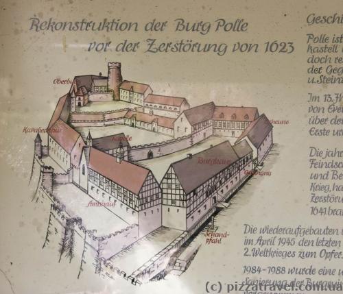Реконструкция замка Эверштайн