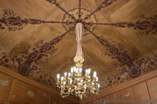 Wooden ceilings in the Vorontsov Palace