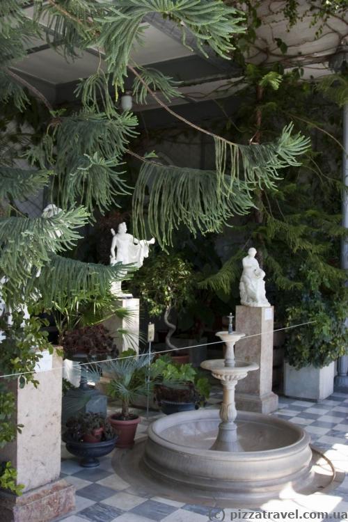Зимний сад в Воронцовском дворце