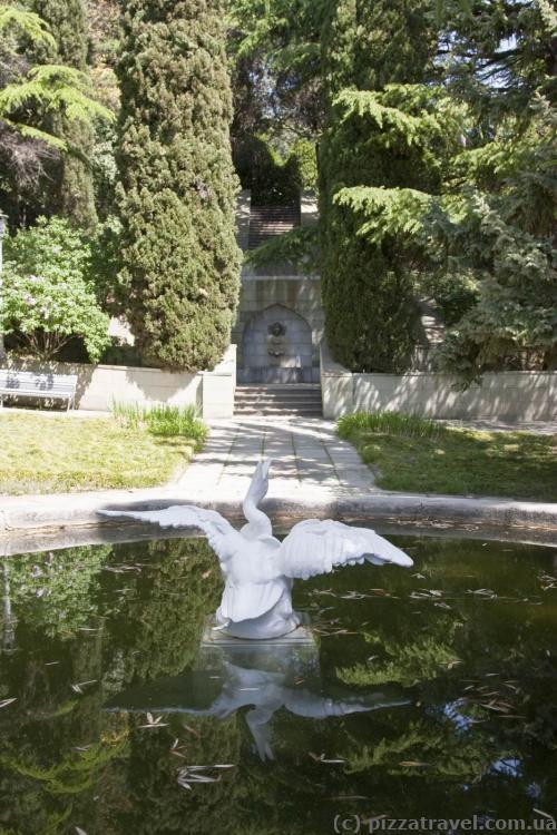 Парк дворца Дюльбер