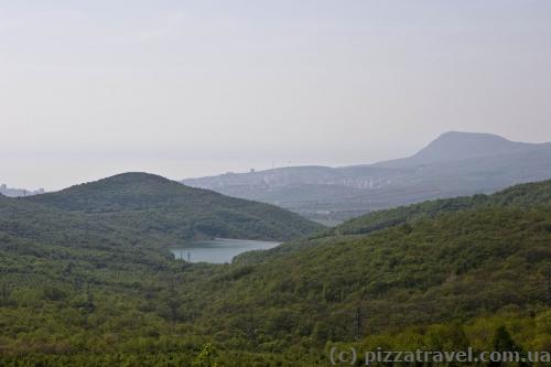 Вид на Кутузовское водохранилище
