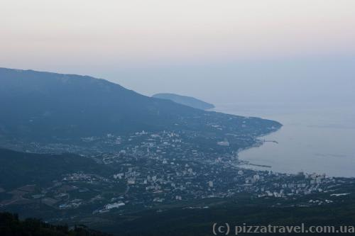 Yalta in the evening