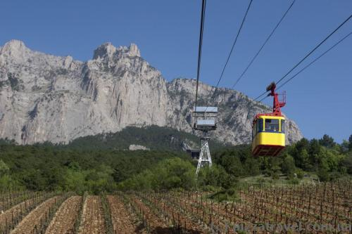 Cable car to Ai-Petri